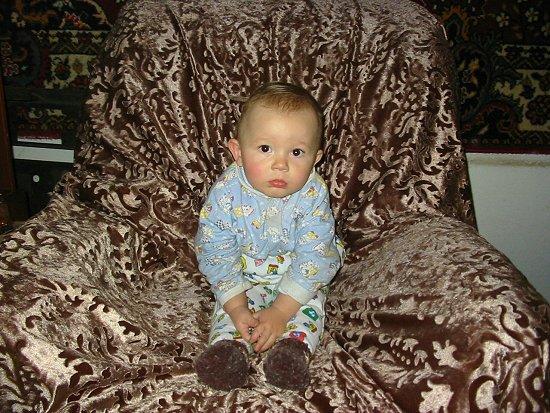 Alexei, de zoon van Diana en Jura