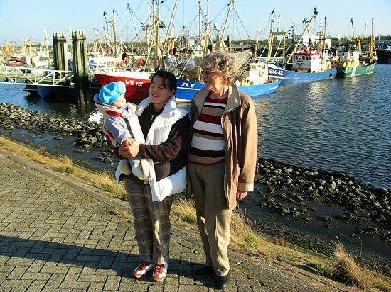 Bezoek aan de visserijhaven van lauwersoog