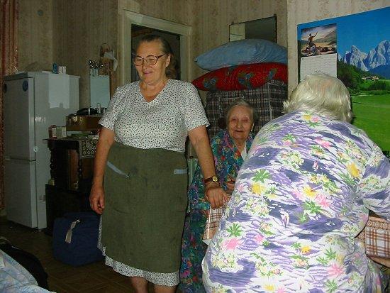 Babba Walla met haar 91 jarige moeder
