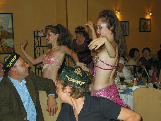 De danseressen krijgen voldoende aandacht