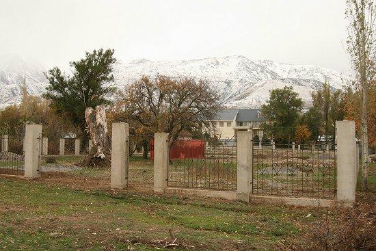 Herfstkleuren in Kazachstan