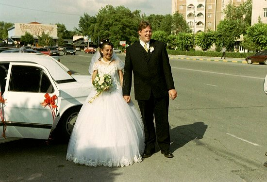 In Shymkent schijnt de zon