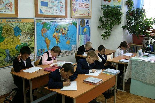Nathalie in de tweede klas