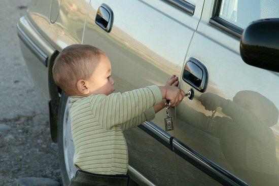 Isabel met sleutel