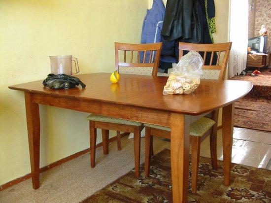 Keukentafel Met Stoelen : Onze nieuwe keukentafel met stoelen