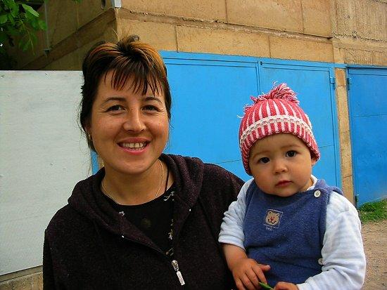 Foto van Nathalie en Elmira