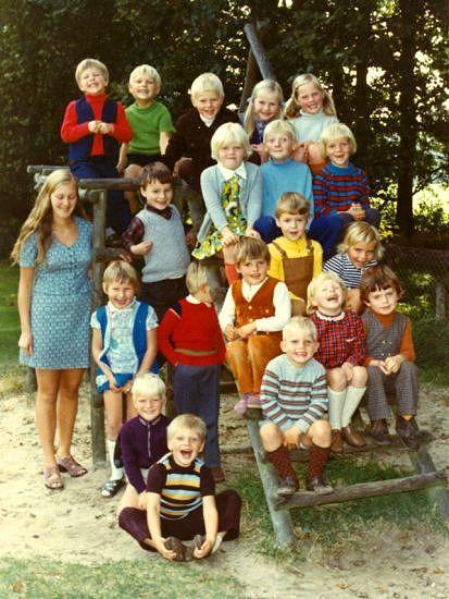 Kleuterschool 1973