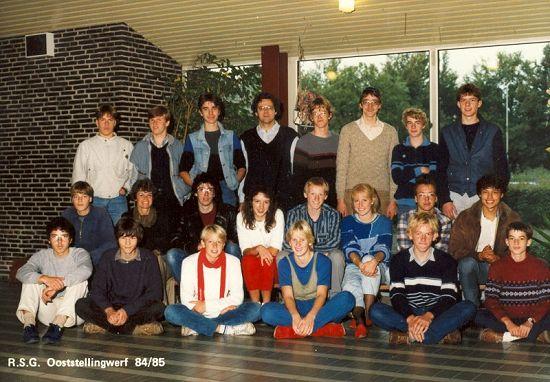 1984-1985, Atheneum 5, RSG Ooststellingwerf