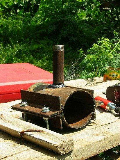 Klemzadel voor waterleiding