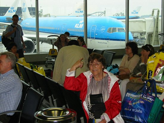 Vliegtuig van KLM