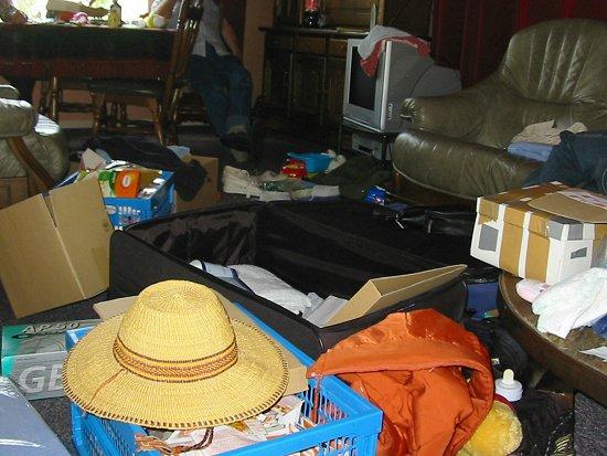 Koffers pakken