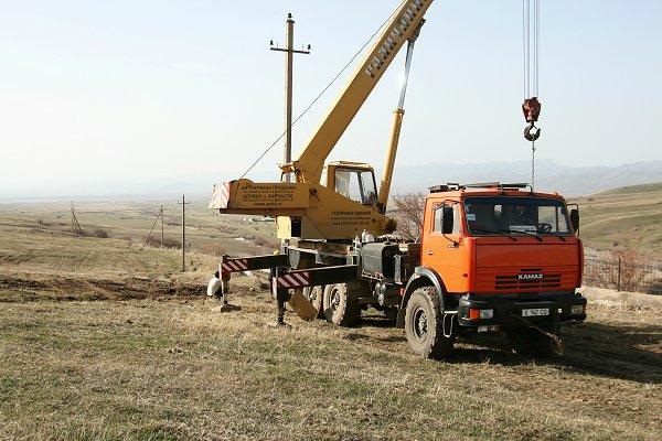 Nieuwe 10 kV leiding