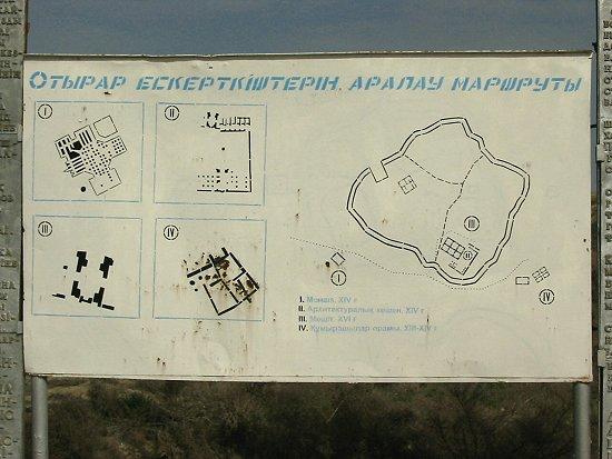 Kaart van Otrar