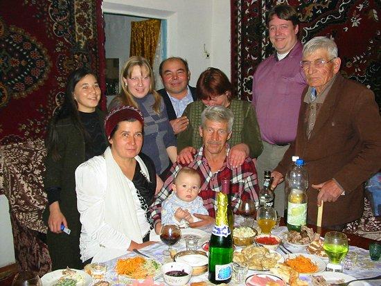 Oudjaar viering bij schoonouders van Diana