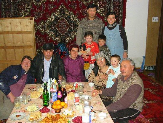 Oudjaar bij Gulnara