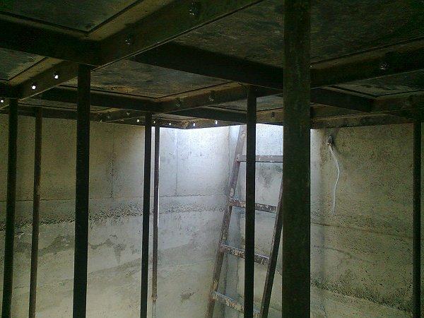 Plafond bekisting