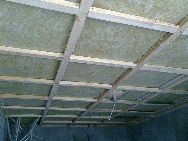 Plafond isolatie