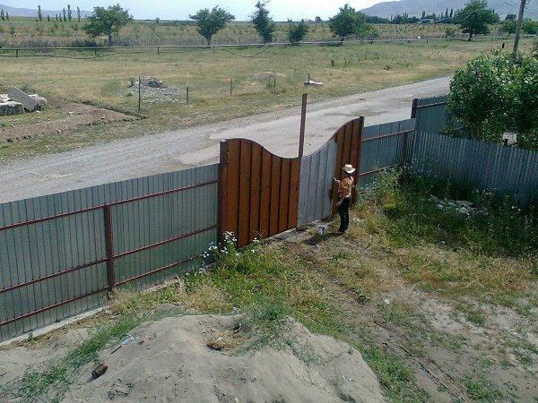 Verven van de poort
