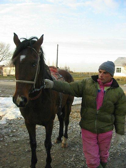 Ruslan met het paard