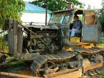 Beppe in de bulldozer