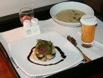 Diner in het Hyatt