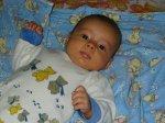Nathalie twee maanden oud