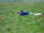 Tweelingbroer als tulpenfotograaf