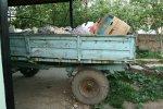 Wagen vol vuilnis