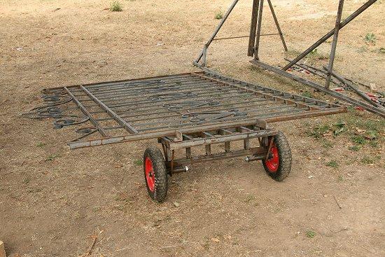 Transportkar voor mijn hekwerken