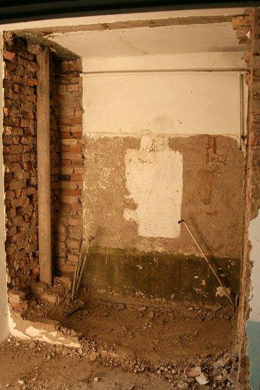 Voormalige badkamer op de eerste verdieping