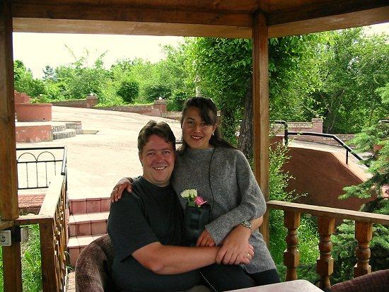 Elmira en Lammert een dagje uit in Almaty