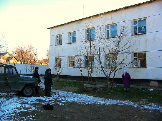 Kazachstaans ziekenhuis bezoek